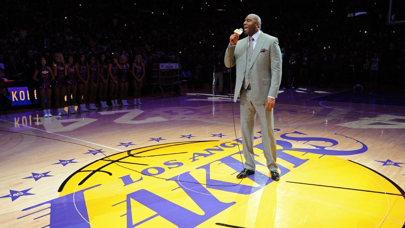 Los Angeles Lakers put Magic Johnson in charge, agree with ...