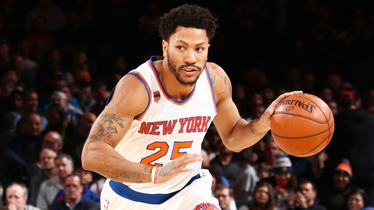 c5ef871679f Knicks  Rose Out For Season With Torn Meniscus