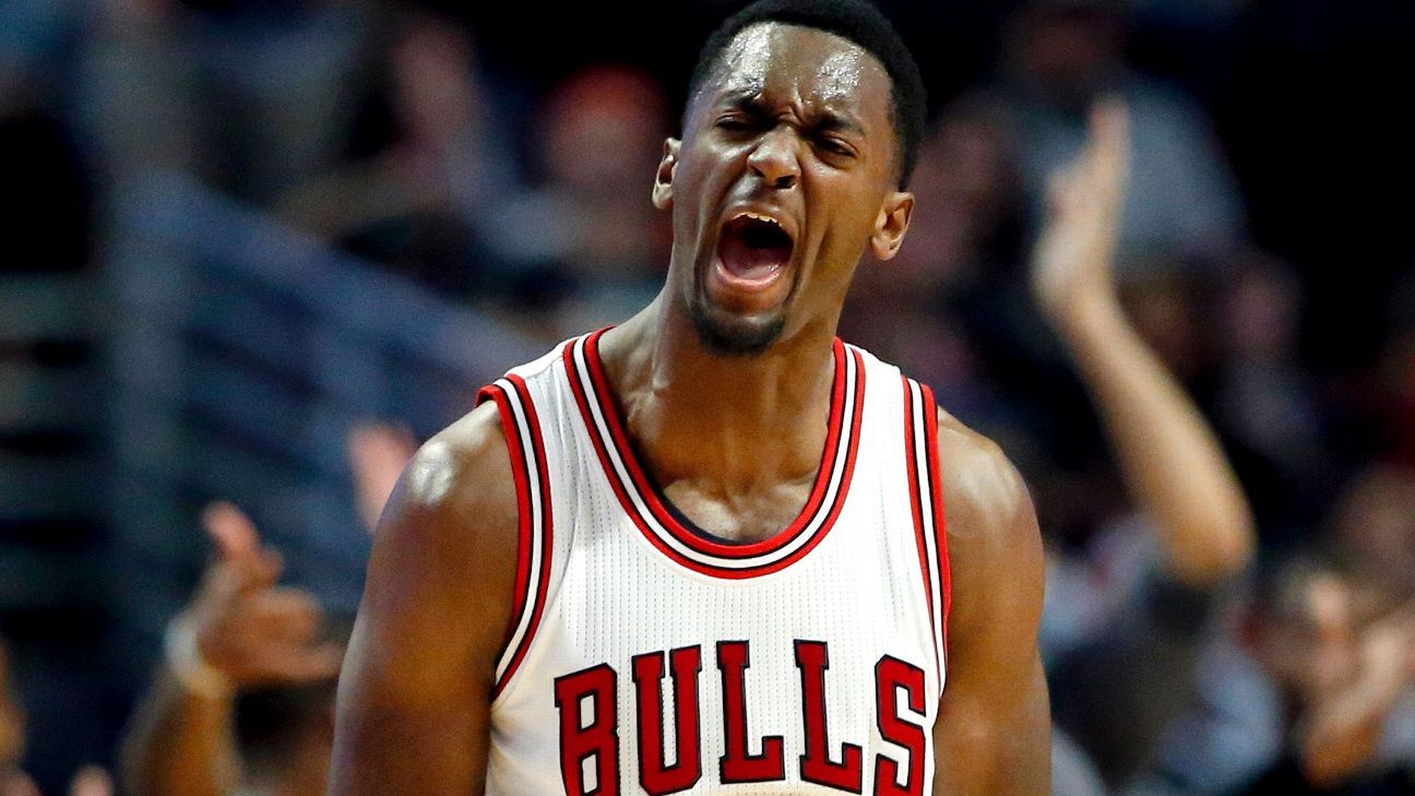 Chicago Bulls power forward Bobby Portis played through 3rd degree burn on foot