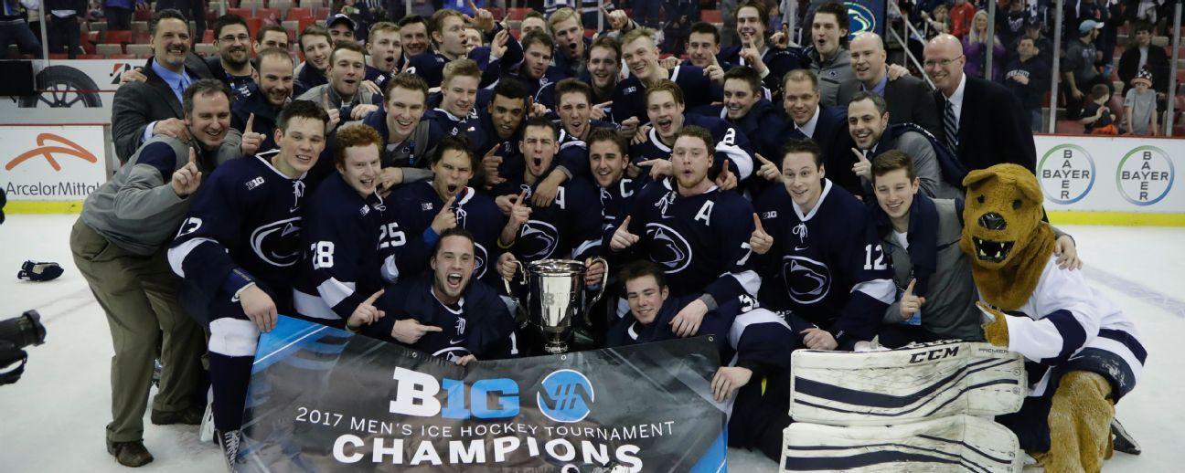 BIG10: How Penn State Built An NCAA Hockey Tournament Team In Five Years