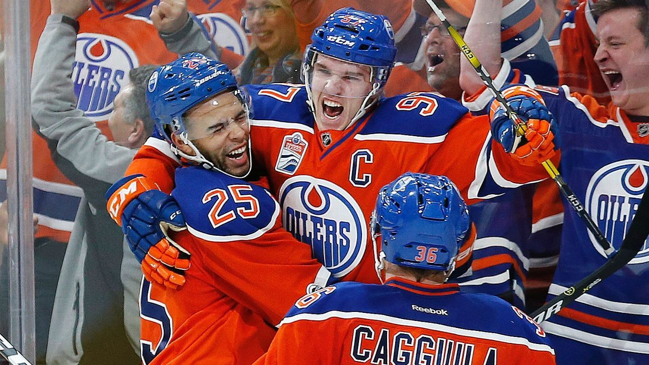 Image result for connor mcdavid playoffs