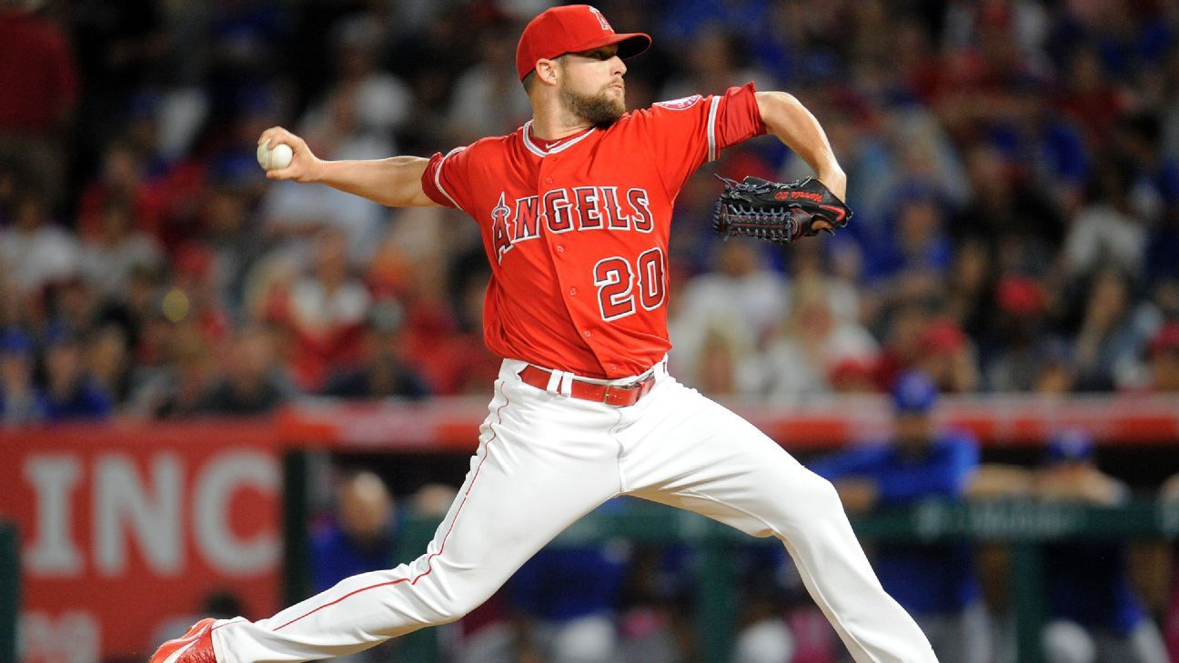 Angels closer Norris to DL with knee issue