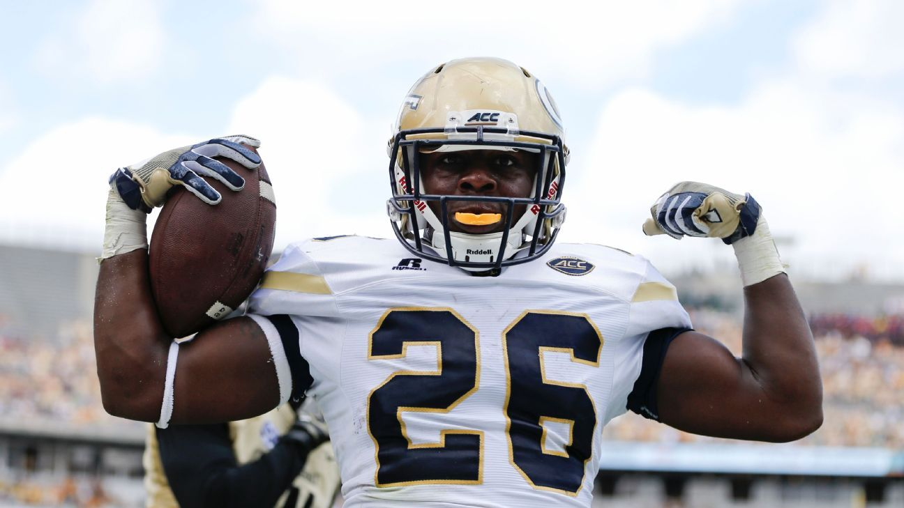 Georgia Tech dismisses leading rusher Dedrick Mills, violation of athletic department rules