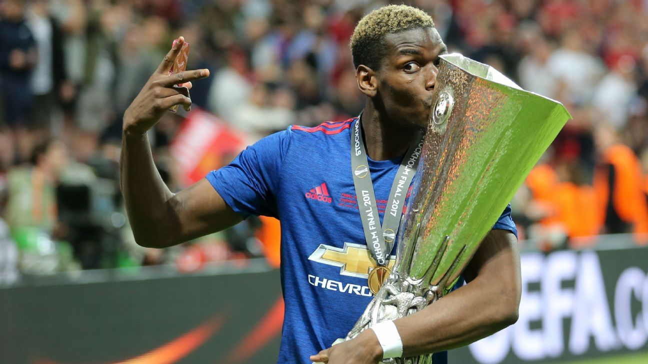 Man United's Paul Pogba wins Europa League Player of the ...
