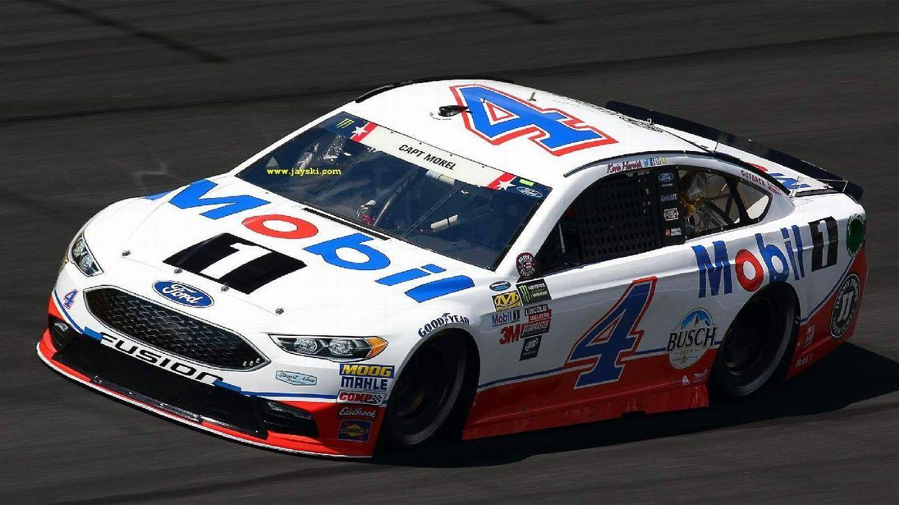 2017 NASCAR Cup Series Paint Schemes - Team #4 Stewart ...