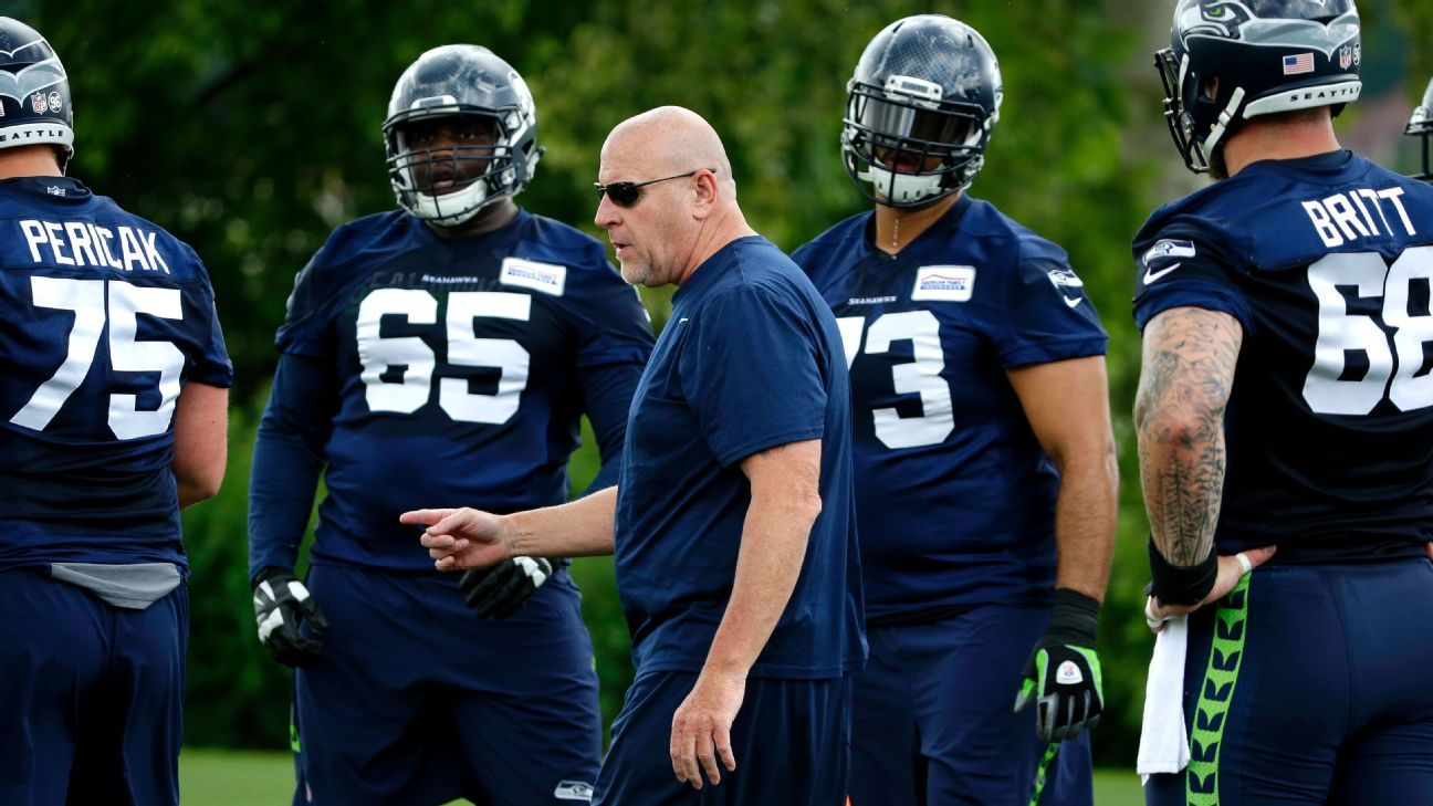Tom Cable: Seahawks 'nailed' offensive line decisions this offseason