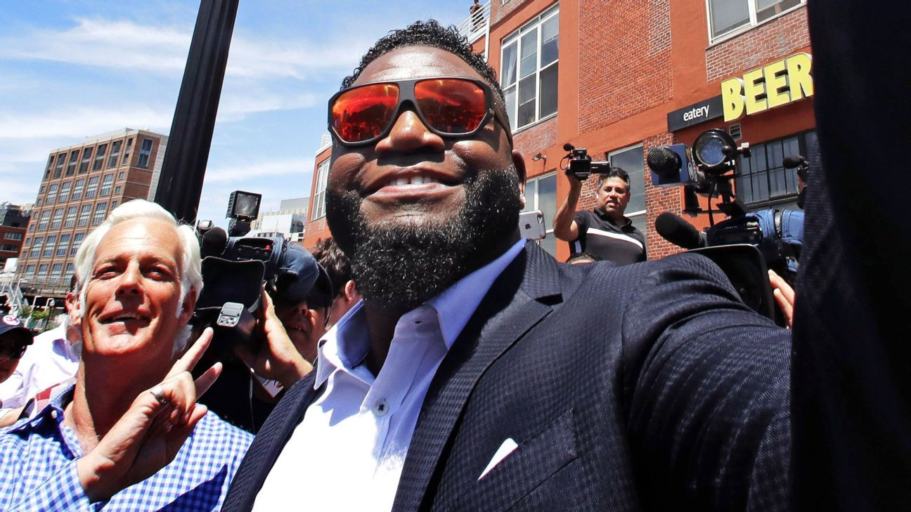 Ortiz's 34 joins pantheon of Red Sox greats