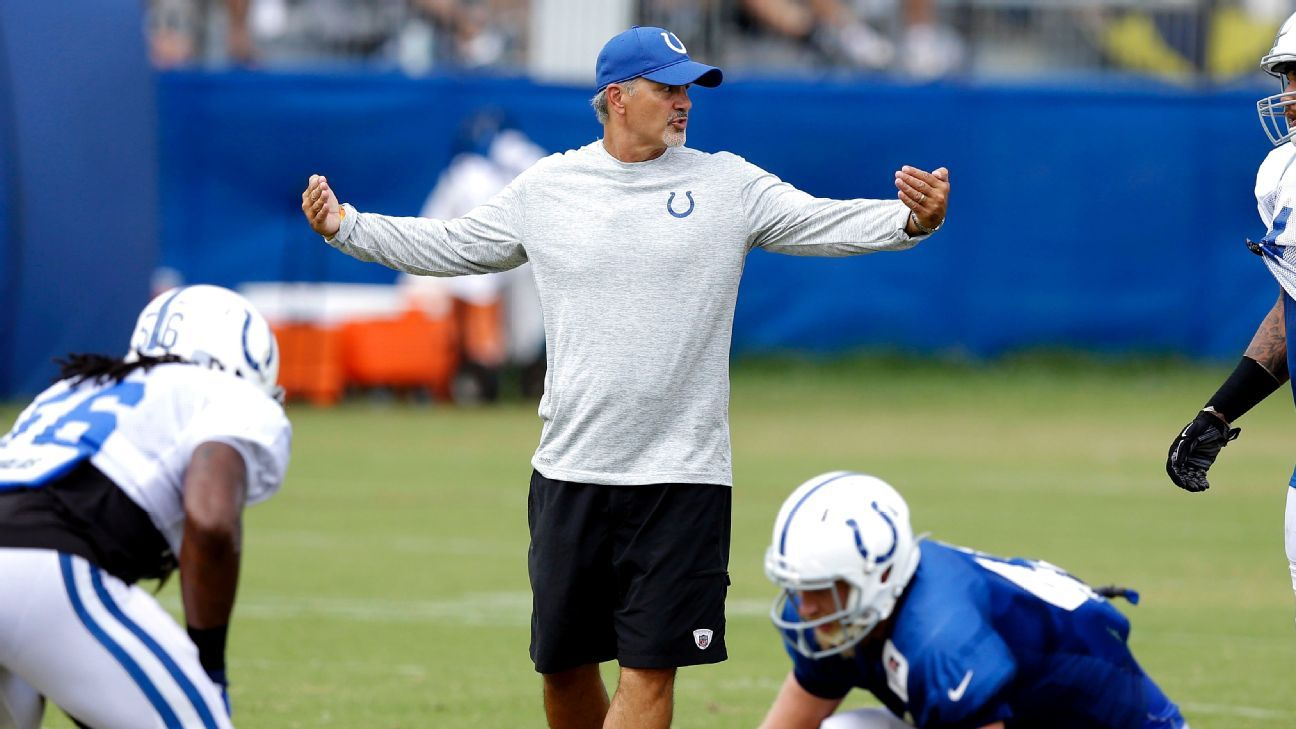 Colts hope switch to 'physical' training camp helps defense