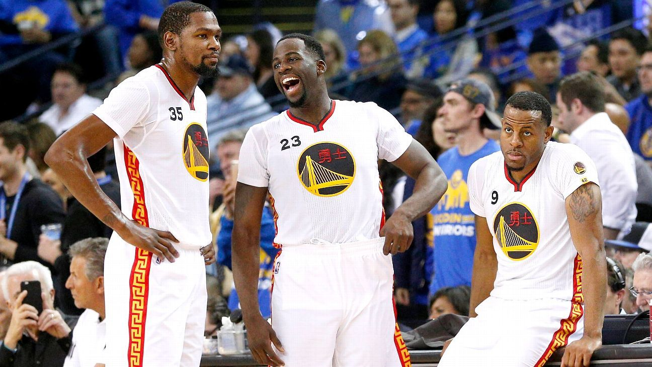 NBA: 2017 Summer Forecast, Western Conference standings