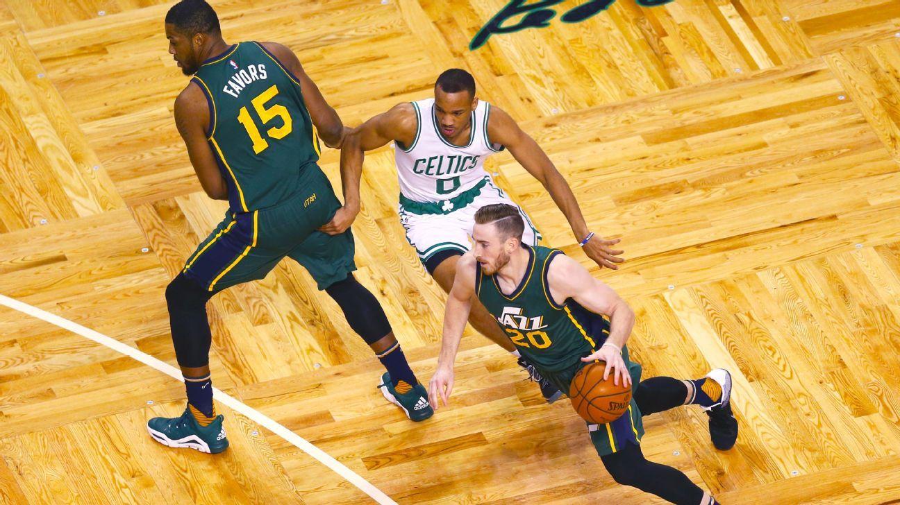 Celtics prepare hoop-centric pitch for Gordon Hayward
