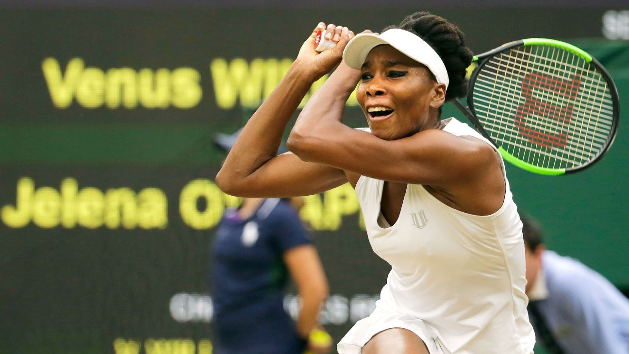 Experience not necessarily an advantage for Venus Williams