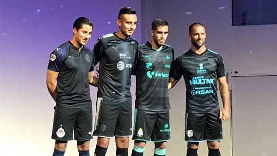 Cuatro clubes mexicanos se vistieron de Negro con Puma