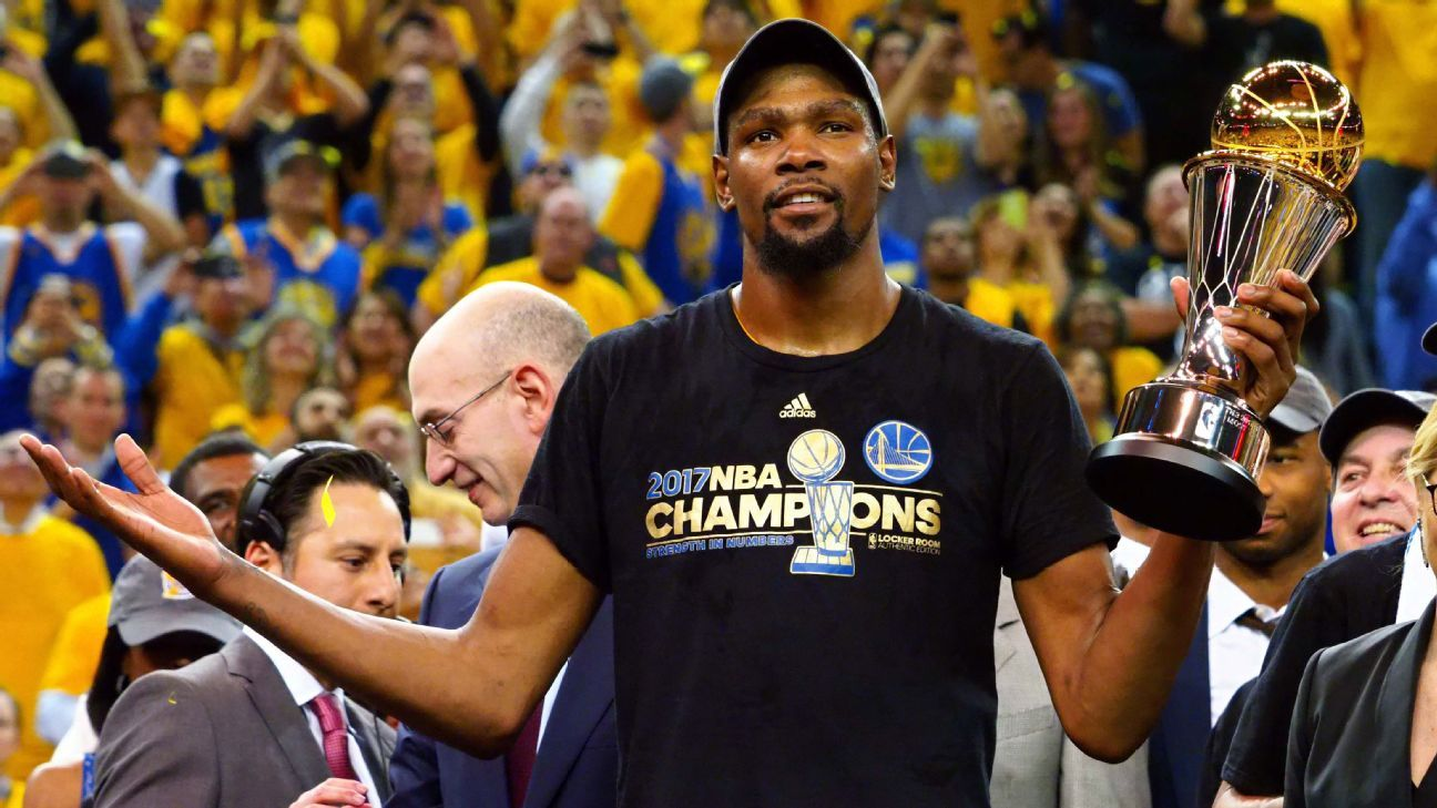 So you think you know Kevin Durant?