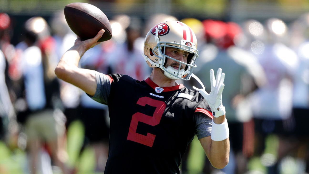 49ers are Brian Hoyer's team -- and he's hoping to keep it that way