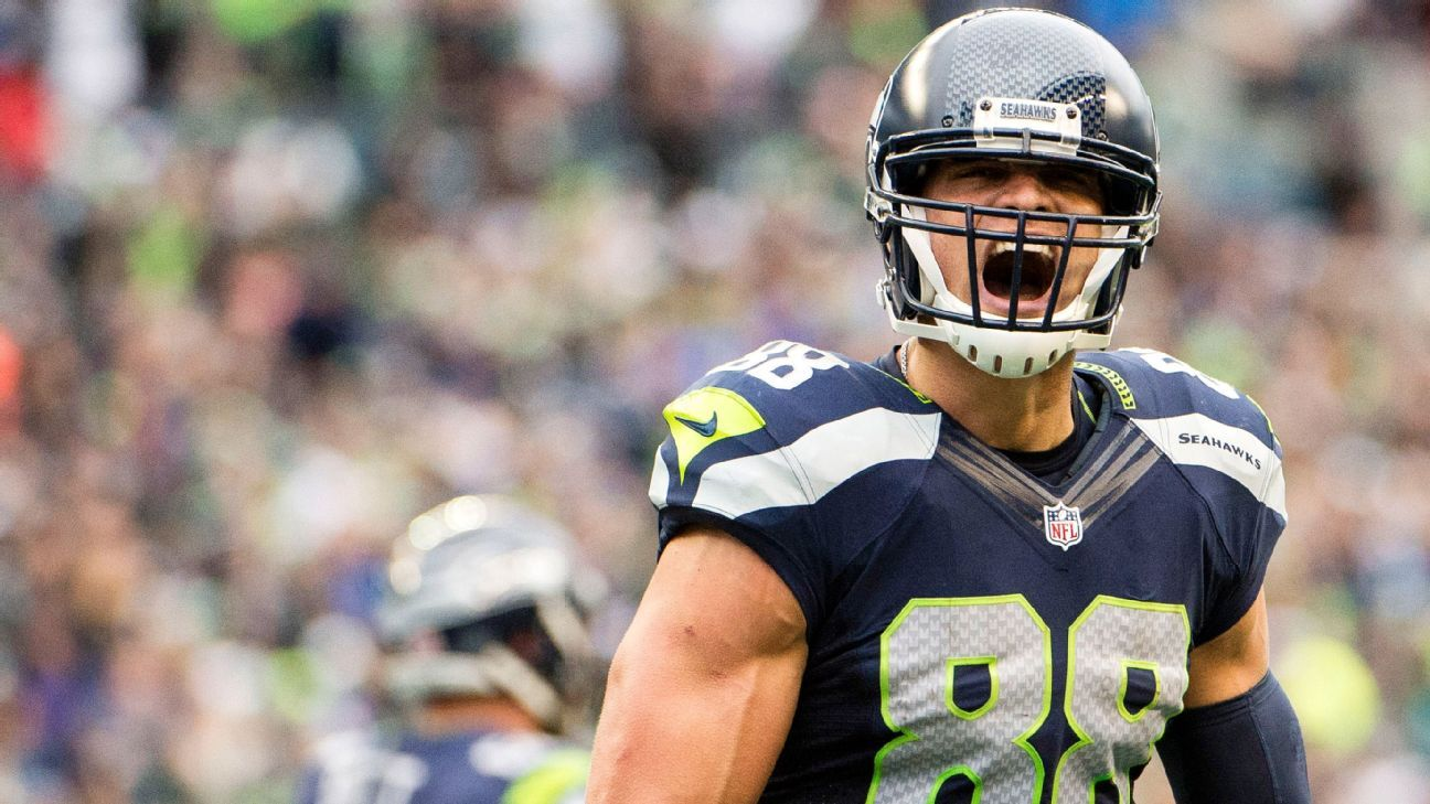 The Best of Seahawks Jimmy Graham For 2017 Previewing Seahawks