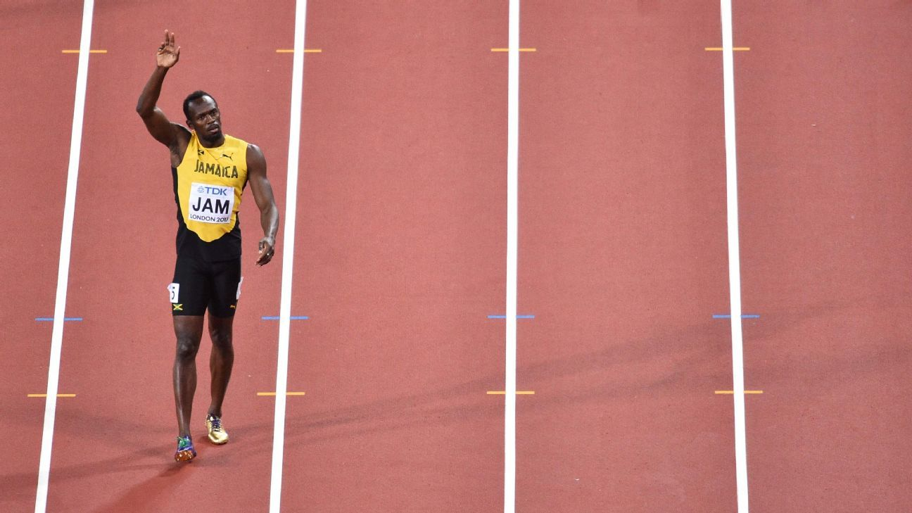 Let's remember Usain Bolt, not this Other Bolt we saw at worlds