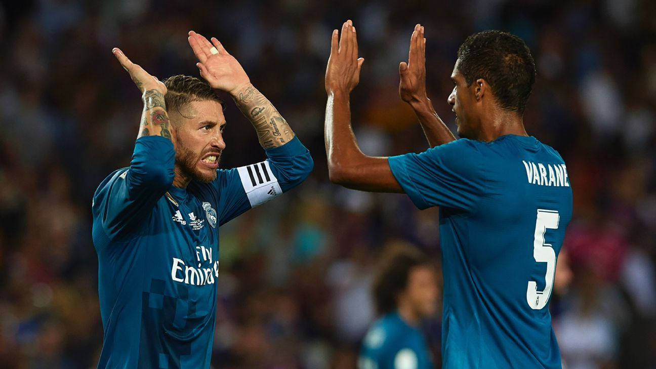 Image result for ramos and varane