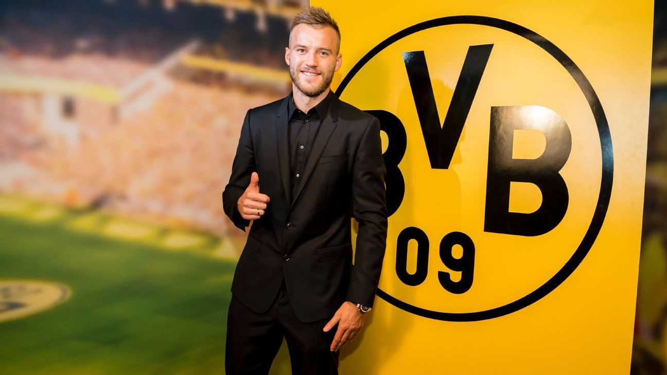 Andriy Yarmolenko won t fill Ousmane Dembele s boots at Borussia