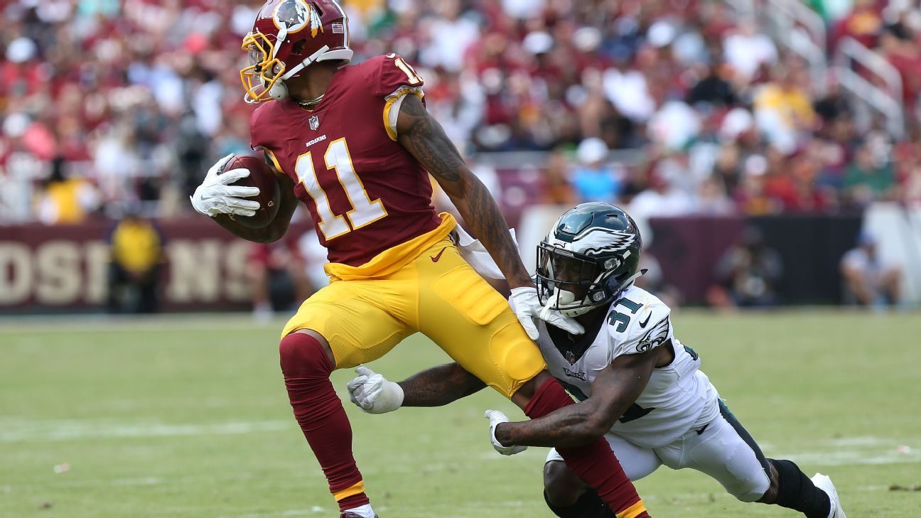 Redskins' Terrelle Pryor apologizes for lack of focus