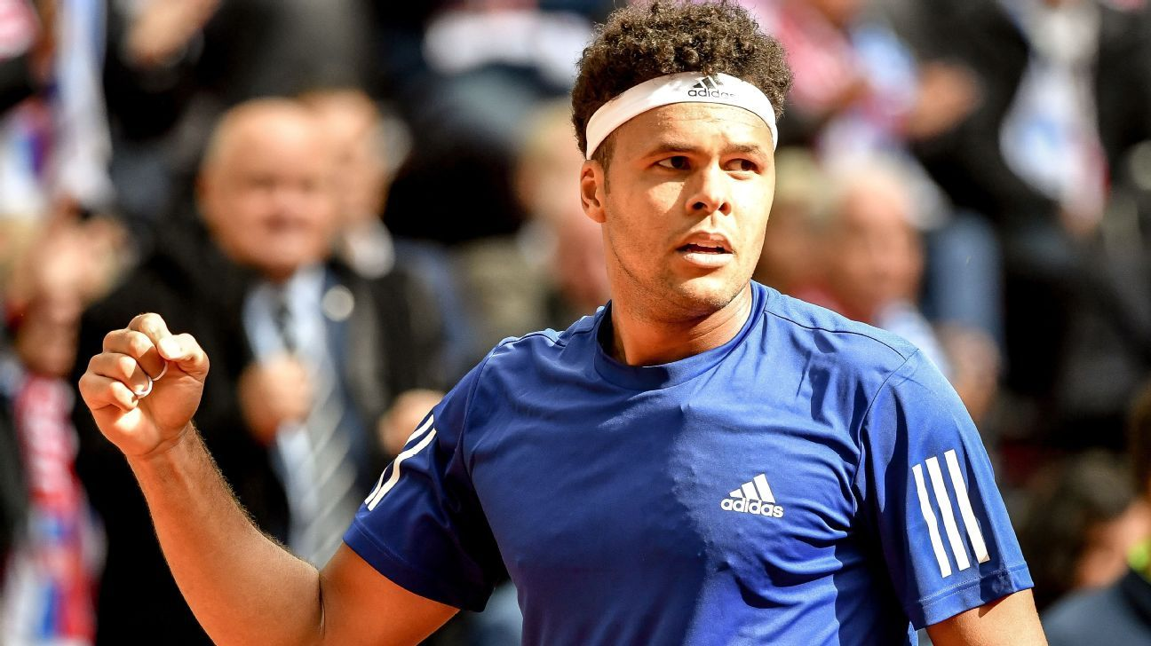 Jo Wilfried Tsonga sets up Diego Schwartzman European Open final in Antwerp