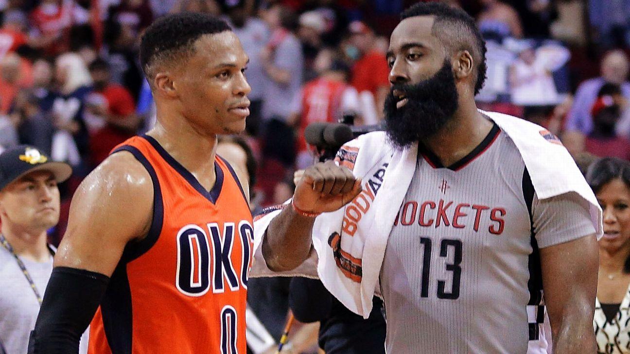NBA: Superteam standings -- Thunder's big three on Warriors' level?