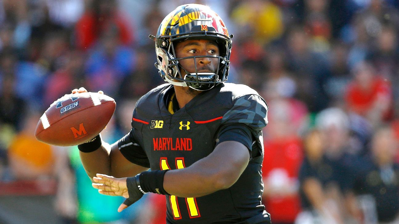 Football Playoff Rankings Out Top >> Maryland Terrapins quarterback Kasim Hill is out for the season