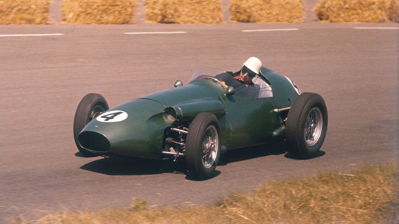 A brief history of Aston Martin and F1