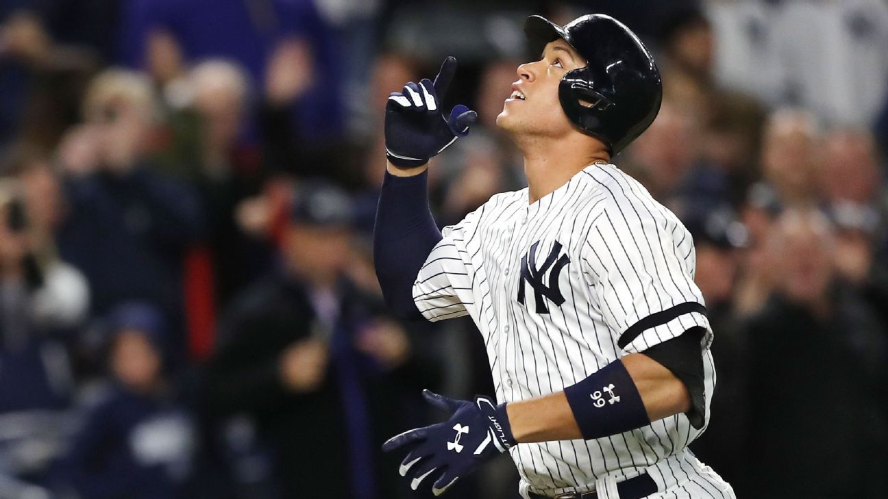 Back in Judge's chambers, Yankees cut Astros' ALCS lead in half