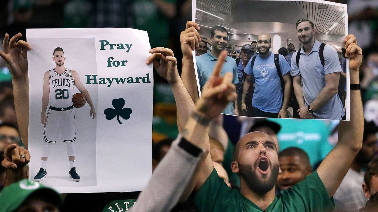 Carry on, Hayward sons: Celtics stumble ahead without injured star