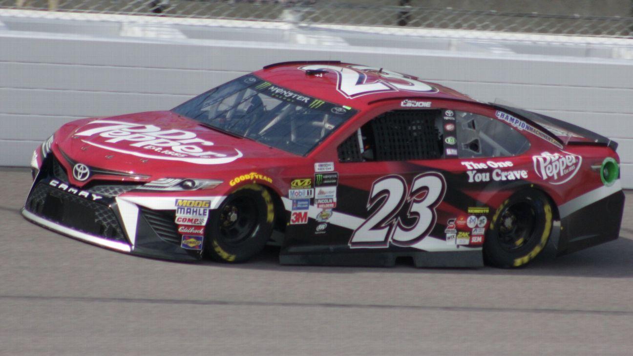 2017 NASCAR Cup Series Paint Schemes - Team #23 BK Racing
