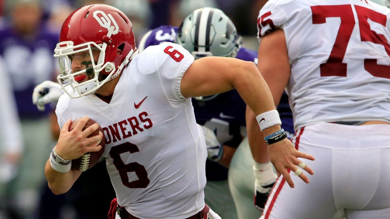 Another week, another Baker Mayfield rally for Oklahoma Sooners - Big 12 Blog- ESPN