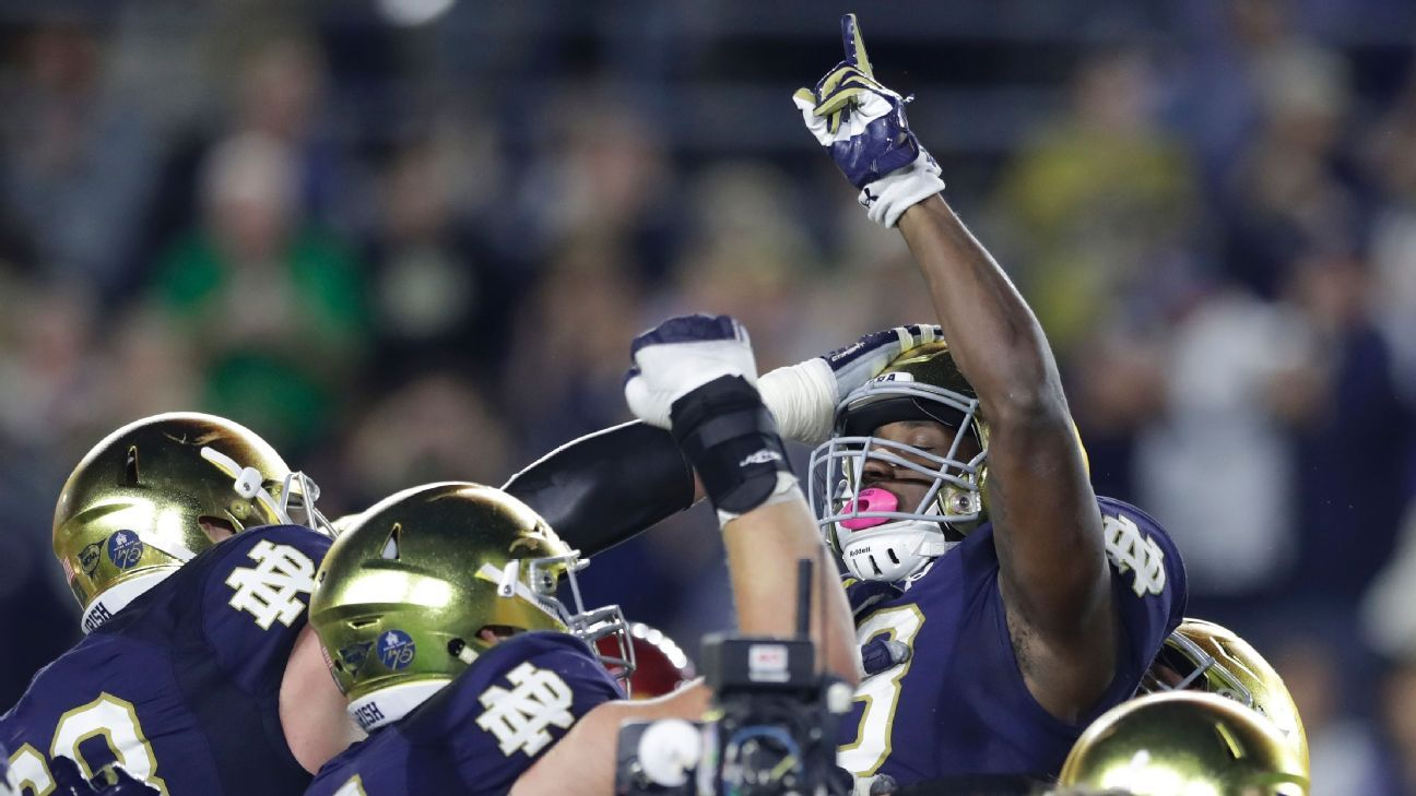 Here come the Notre Dame Fighting Irish, there goes the Pac-12 and more College Football Playoff lessons