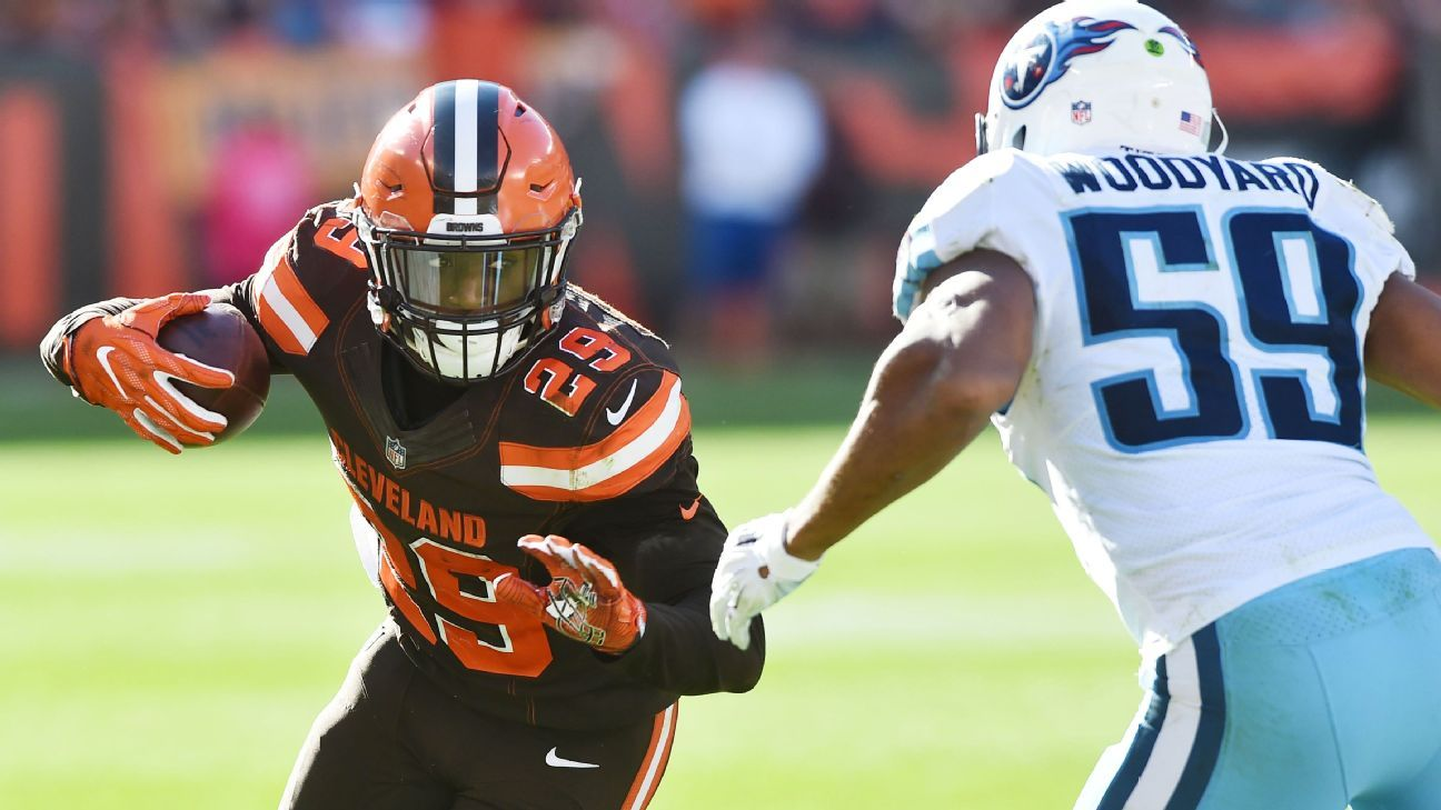 Running back Duke Johnson has agreed to a three-year contract extension with the Cleveland Browns, the team announced Thursday. Sources told ESPN's Josina Anderson the deal is worth $15.6 million, with $7.74 million guaranteed.