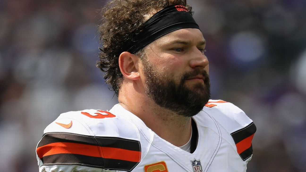 Joe Thomas played harder and better than anyone the Browns had during his tenure and did it all with a smile. It's hard to imagine another like him.