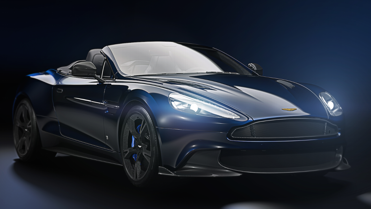 Aston Martin sells Brady edition car for $360K