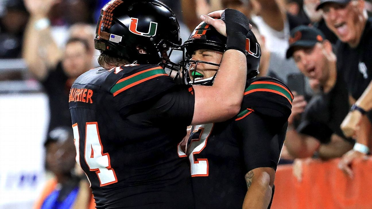 Malik Rosier and a heavy dose of the turnover chain help Miami make CFP statement