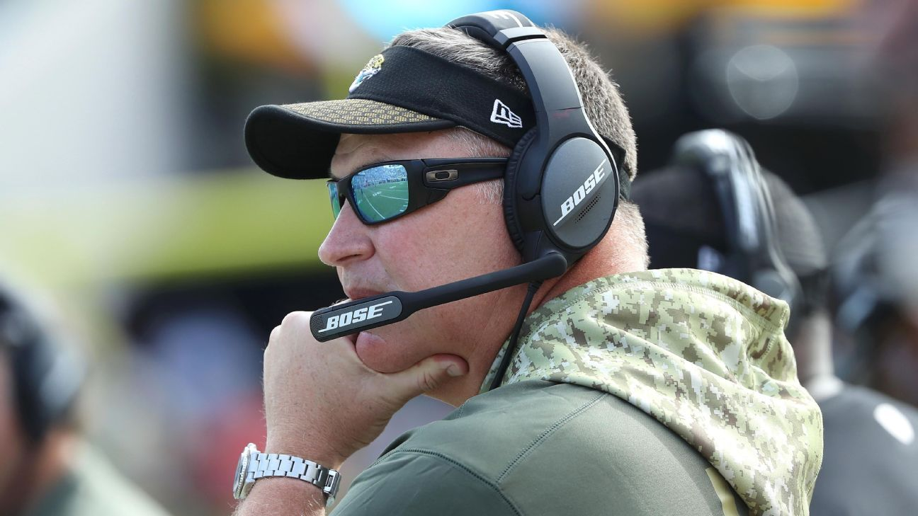 Coach Doug Marrone says Jacksonville Jaguars playing 'a lot of bad football'
