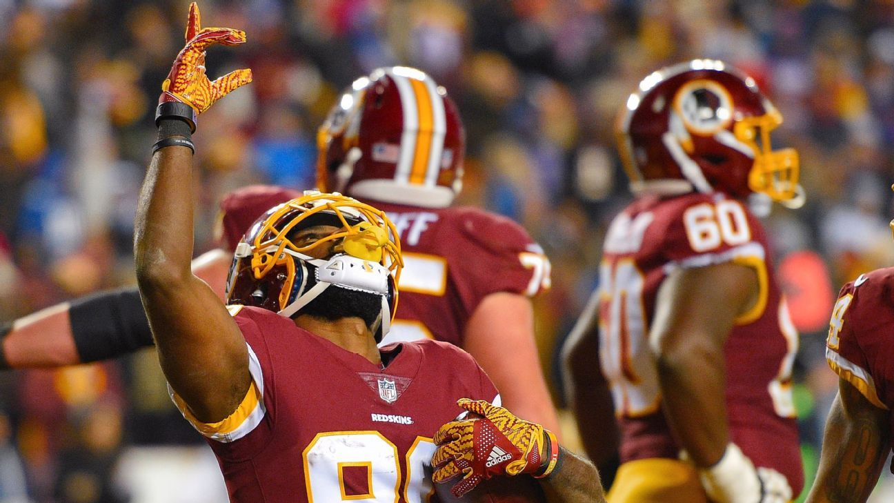 Redskins' new big three lead win over Giants