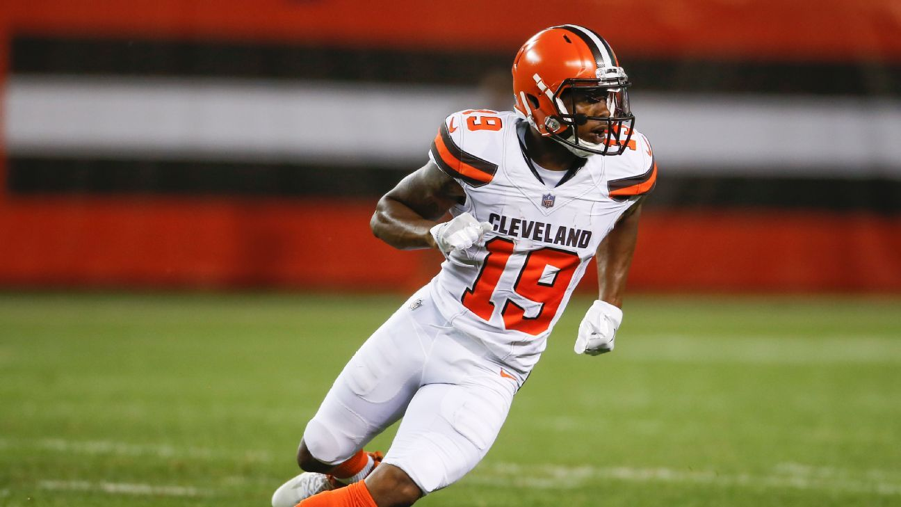 The Bills and Browns completed a trade that sends receiver and former first-round draft pick Corey Coleman to Buffalo for a seventh-round pick in 2020.