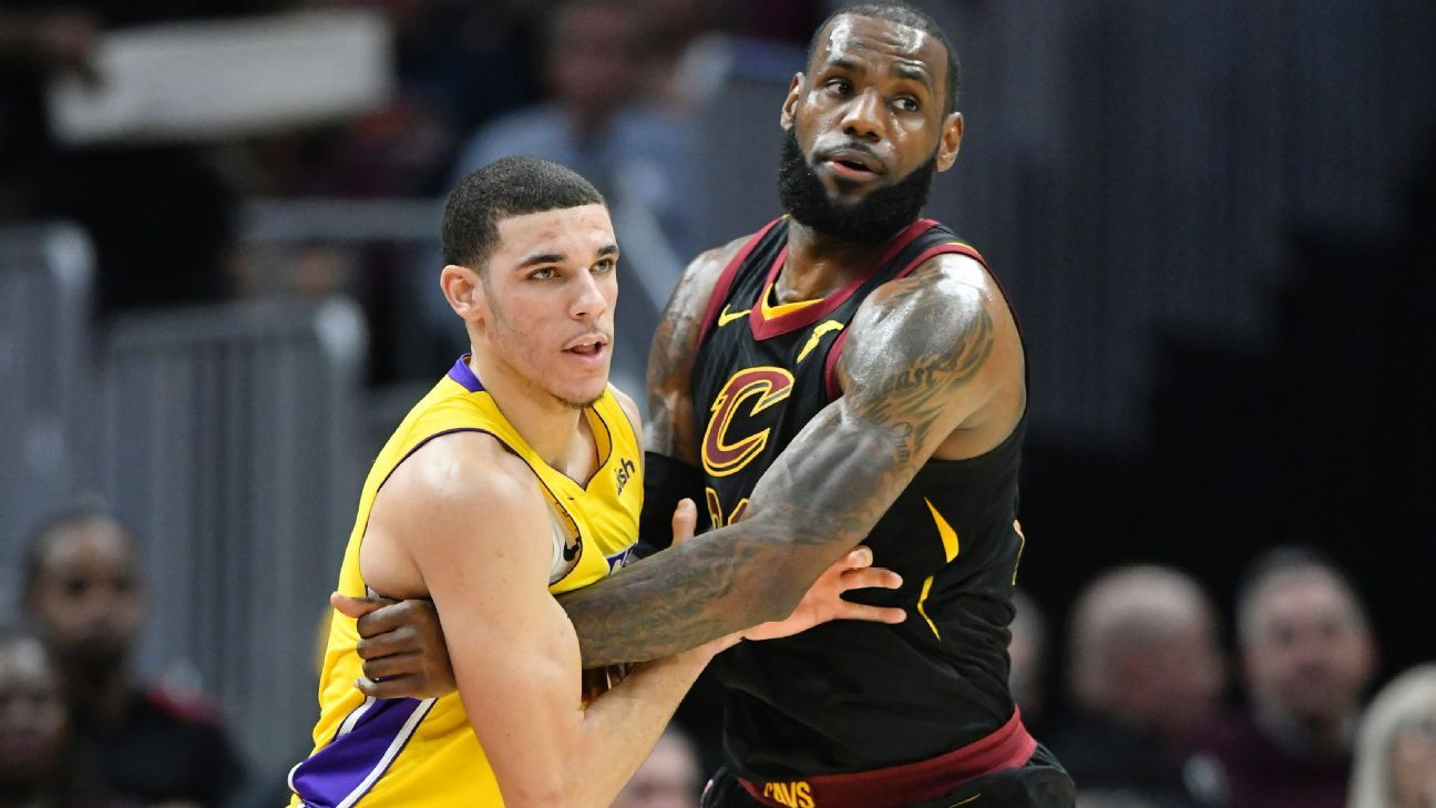 NBA -- LeBron James proves too much for Lakers