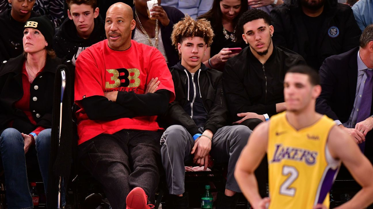 LaVar Ball says Los Angeles Lakers coach Luke Walton has lost the team