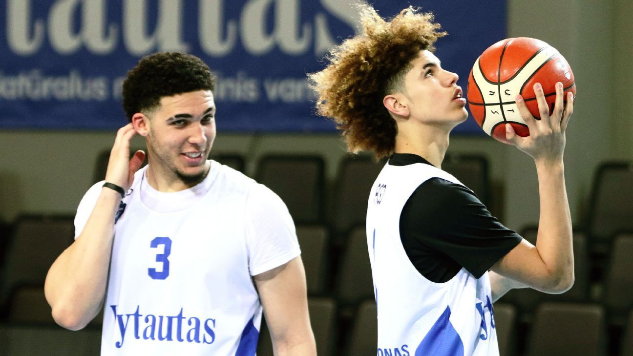 Lakers to give LiAngelo Ball pre-draft workout