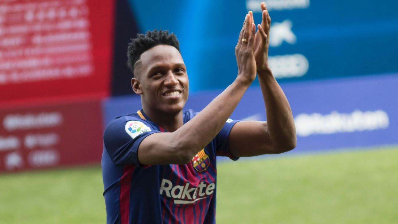 Barcelona new boy yerry mina playing with messi will be special stopboris Choice Image