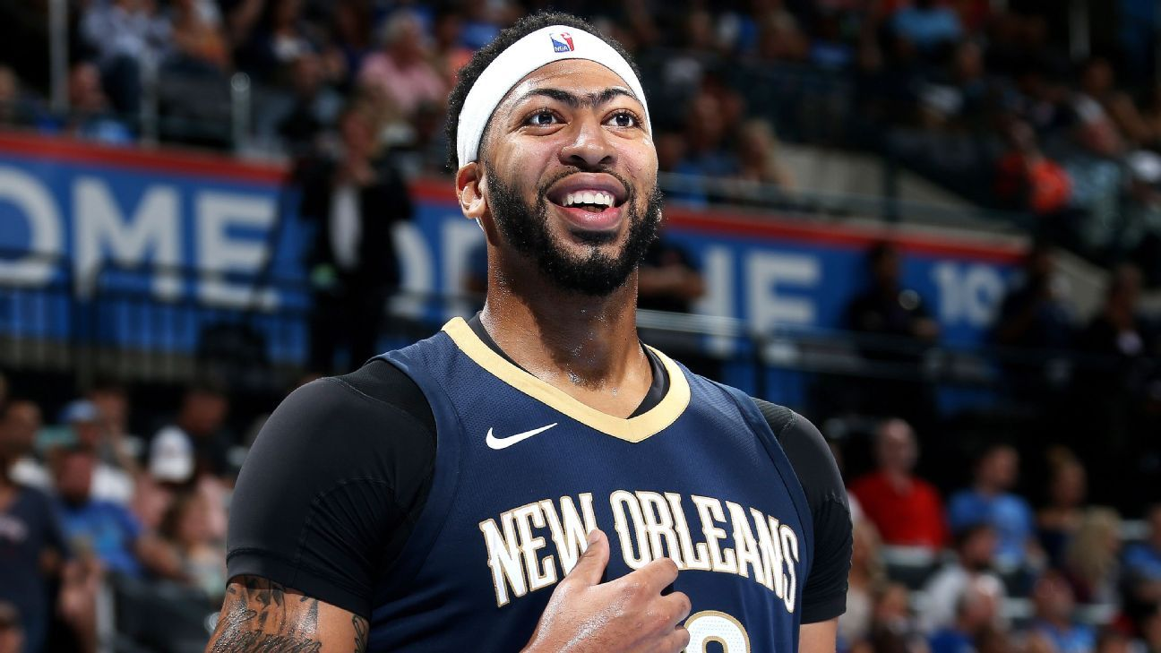 NBA player rankings: Anthony Davis just had the best week of his career