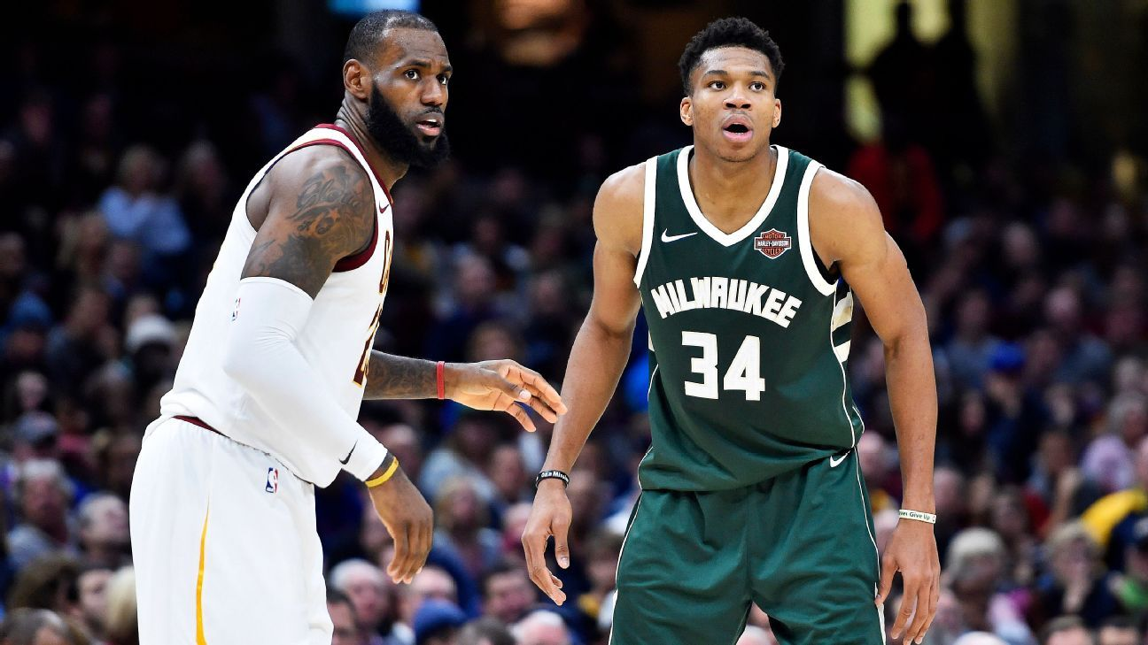Zach Lowe's 2018 NBA All-Star starters and reserves