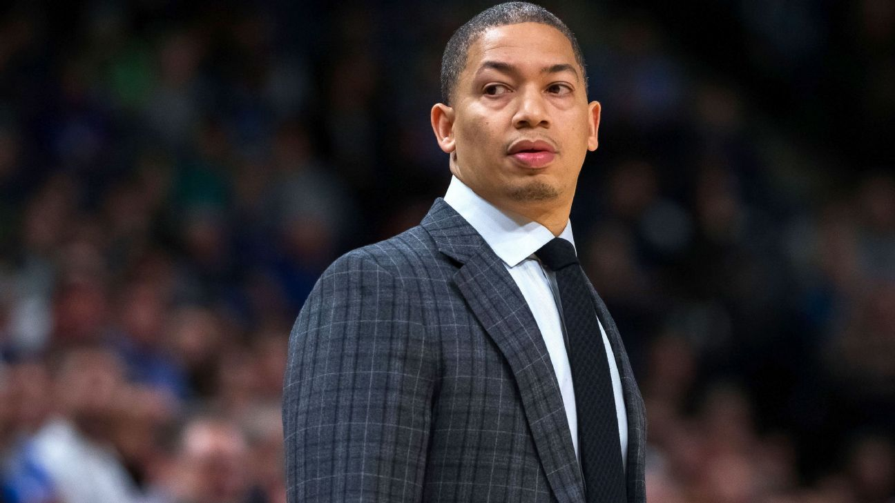 Cleveland Cavaliers coach Ty Lue steps back to focus on health