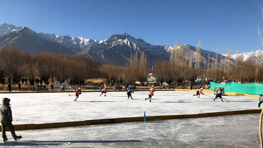 Sharda Ugra - India's Ice Hockey On Thin Ice But Help Is At Hand