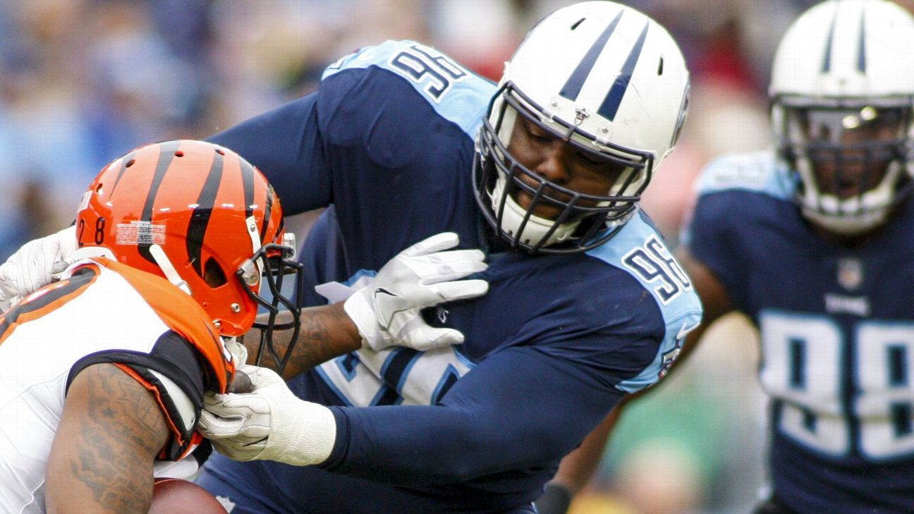 One year after signing him to a three-year, $16.5 million contract, the Titans release nose tackle Sylvester Williams.