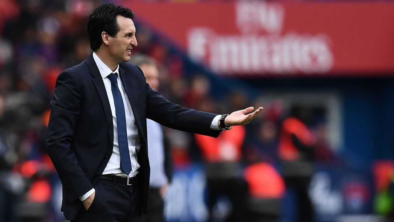 Unai Emery Can Leave Psg On A Positive Note By Leading Club To  Point Mark In Ligue