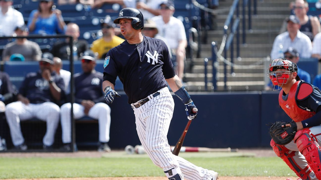 Fantasy MLB - Catcher position preview - Are Gary Sanchez ...
